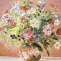 Summer Bouquet by David Lloyd Glover