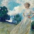 Summer Breeze 1915 by Reid Robert Lewis
