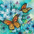 Summer Butterflies by Deborah Younglao