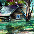 Summer Cabin by Mindy Newman