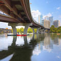 Summer Day At Lady Bird Lake In Austin Texas 1 by Rob Greebon
