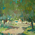 Summer Day In City Park. Trees by Sergey Avdeev