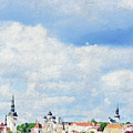 Summer Day In Tallinn by Pekka Liukkonen