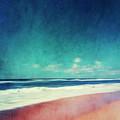 Summer Days IIi - Abstract Beach Scene by Dirk Wuestenhagen