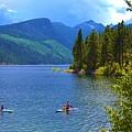 Summer Family Kayak Fun by Cherie Cokeley