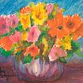 Summer Flowers by Ann Sokolovich