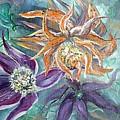 Summer Flowers Long by Ryn Shell