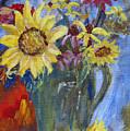 Summer Flowers by Sandy Krage