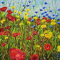 Summer Flowers by Shirley Wellstead