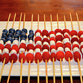 Summer Fruits Stars And Stripes  by James Brunker