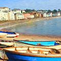 Summer In Dawlish by Chris Armytage