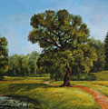 Summer In Pavlovsk  by Leonid Polotsky