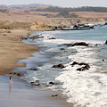 Summer In San Simeon by Art Block Collections
