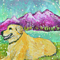 Summer In The Mountains With Summer Snow by Ashleigh Dyan Bayer