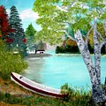 Summer In The Muskoka's by Peggy Holcroft