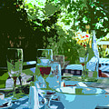 Summer Lunch Remembered by Ian  MacDonald