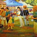 Summer Market by Brian Simons