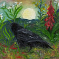 Summer Moon Raven by FT McKinstry