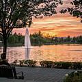 Summer Of Love Lake Harveston by Adam Rainoff