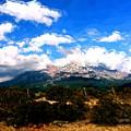 Summer On Mt. Shasta by Methune Hively