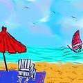 Summer On Nantasket by Jennifer Talbot