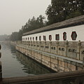 Summer Palace Pond With Ornate Balustrades by Carol Groenen