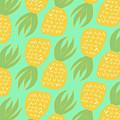 Summer Pineapples by Allyson Johnson