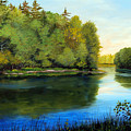 Summer River by Laura Tasheiko