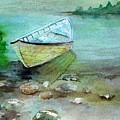 Summer Rowboat by Sandi Stonebraker