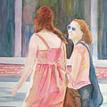Summer Shoppers by Jenny Armitage