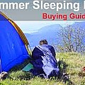 Summer Sleeping Bags by Gear Head Junkie