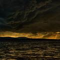 Summer Storm Over Lake Wausau by Dale Kauzlaric