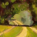 Summer Stroll by Nancy Merkle