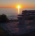 Summer Sunrise, Marginal Way, Ogunquit, Maine  -67904 by John Bald