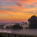 Summer Sunrise by Ulrich Burkhalter