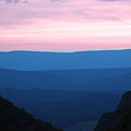 Summer Sunset On The Allegheny Mountains - Hardy County Wv by Dave Lynch