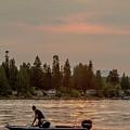 August Sunset On Yukon Harbor.3 by E Faithe Lester
