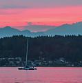 Summer Sunset Over Yukon Harbor.5 by E Faithe Lester
