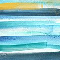 Summer Surf 2- Art By Linda Woods by Linda Woods