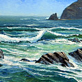 Summer Surf by Frank Wilson