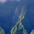 Summer Waterfall Behind Hanalei Bay by Mary Deal