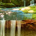 Summer Waterfall by Kenneth Sponsler