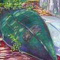 Summerime Overturned by Katherine  Berlin