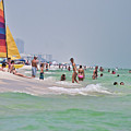 Summers Day On Pensacola Beach by Ray Devlin