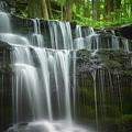 Summertime At Gunn Brook Falls by Mary Lou Chmura