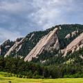 Summertime At The Flatirons by Michael Putthoff