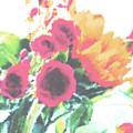 Summertime Blooms by Susan  Lipschutz