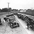Summertime Country Traffic Jam by Underwood Archives