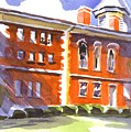Summery Afternoon Sunshine At The Courthouse by Kip DeVore