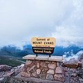 Summit Of Mount Evans by Angie Harris